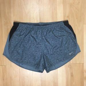Nike | Snake Print Dri-Fit Running Shorts w/ Liner